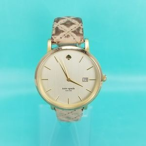 KATE SPADE NEW YORK LIVE COLORFULLY Gold Tone 3ATM